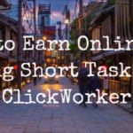 Earn online by doing short tasks on ClickWorker