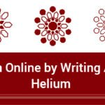 Earn online by writing articles on Helium