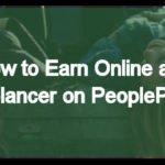 Earn online as freelancer on PeoplePerHour