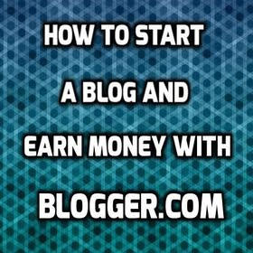 how to start a blog and earn money