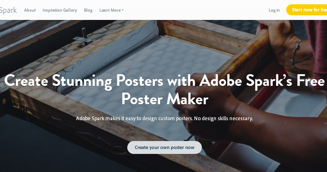 5 Free Online Tools that let you Create Stunning Posters