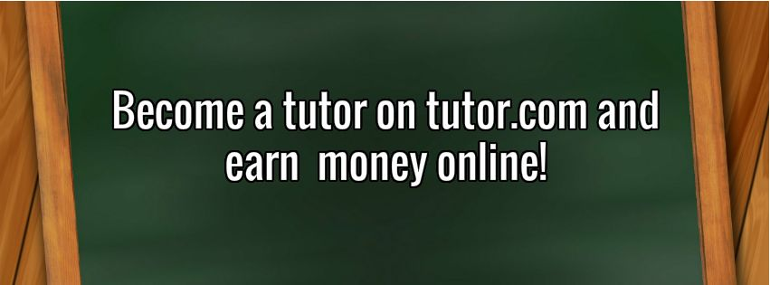 Become online tutor and earn money