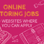Websites for finding Online tutoring jobs