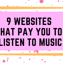 9 websites where you can Make Money by Listening to Music