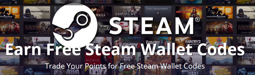 earn free steam wallet codes
