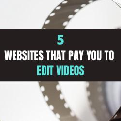 Make Money Editing Videos