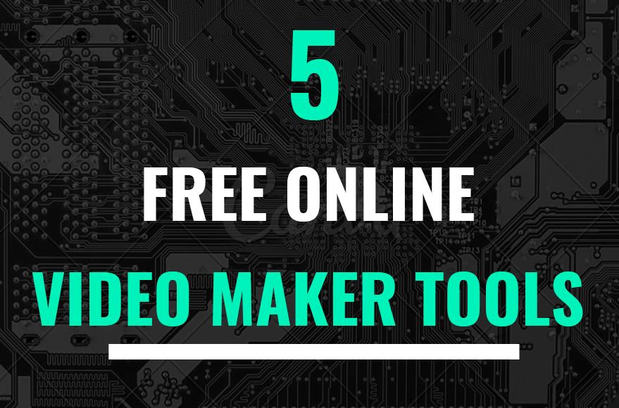 free online video maker tools