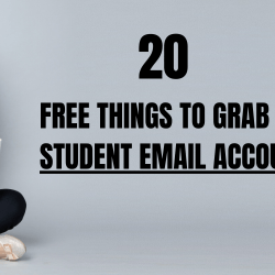 Free Things to Grab With Student Email Account