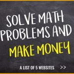 Earn money with Mathematical skills