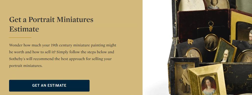 Sothebys miniatures