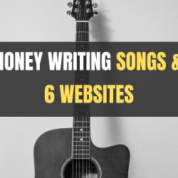 websites to make money writing songs and lyrics