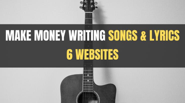 websites to make money writing songs and lyrics