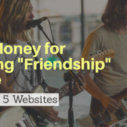 earn money by offering friendship online