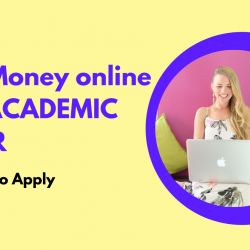 Make Money as Academic Writer online