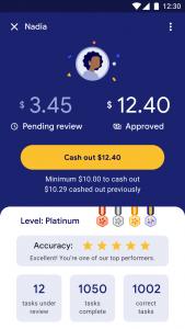 Google Task Mate Payment Details