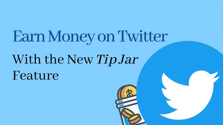 Earn Money Twitter tip jar